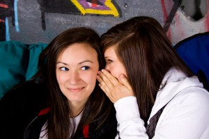 Whispering a secret about you!