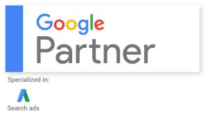 We Are a Google Partner Specializing in Search Marketing.